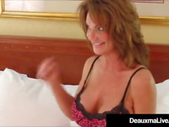 Hot Horny Cougar Deauxma Fucks Big Musta Cock Fan!