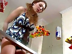 Girls Out West - Amateur candy lover