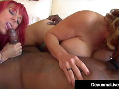 Mature Mother Deauxma & Whitney Wonders Fucked By BBC!