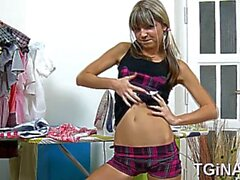 naughty russian sweetheart gina gets banged in several ways