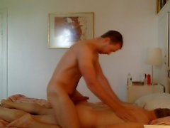 Massage, Rim, then Fucking Mature Daddy