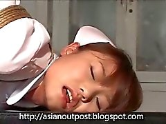 Japanese Nurse's Anal Time