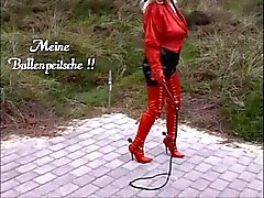 Arschlady Angelique Cfm Boots long Gloves tight Corset !!