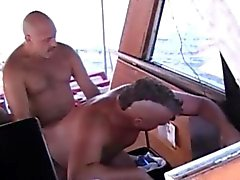 Gay Mature Off Shore Gang Bang