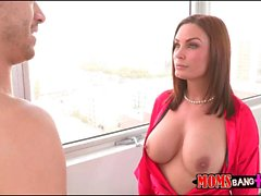 Blacks Milf trio caldo Diamond Foxxx