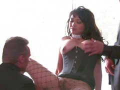 Double penetration with Mika Tan