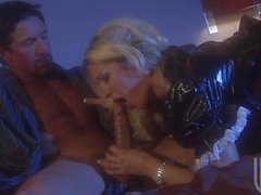 Kinky blonde Jessica Drake doing it with hot guy