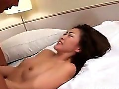 Horny Japanese MILF Getting Pounded