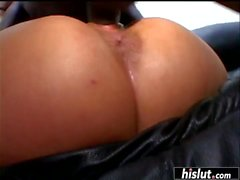 Fit Latina gets penetrated with a monster dick