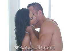 PureMature - Hot vixen Jewel Jade takes it to her nice behind