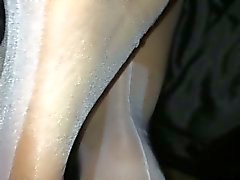 White stocking foot job