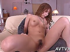aroused asian babe rika aiba enjoys sex activities