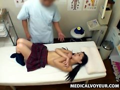 Asian teen in blue sailor uniform fucked by classmate
