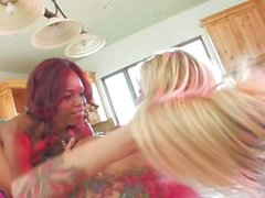 Brooke and Marie Luv CandyLande - Scene 1