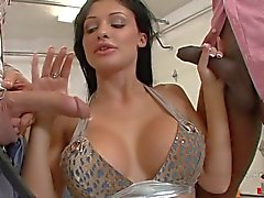 Double fucking with beautiful Aletta Ocean