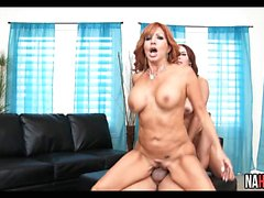 Sexy Threesome Big Tits MILF Janet Mason, Tara Holiday