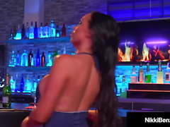 Big Titty Lovers Nikki Benz & Abigail Mac Finger Fuck!