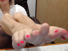 Monique Alexander having foot fetish funtime