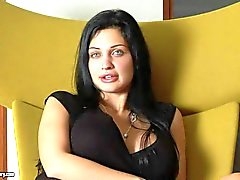 Stunning bombshell Aletta Ocean has arousing interview