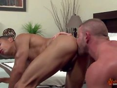 Shay Michaels fucks Armond Rizzo in his hotel room - Gay Daddy & Twink Sex
