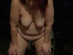 Fat Fuck Pig Pissing Utan Naked Like A Sow Should