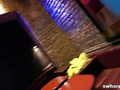 Stripper girl fucked filmed in strip club with hidden cam