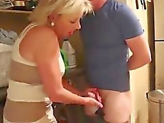caught sniffin' mom janets dirty panties