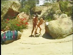 Banging Jessica Drake in the desert