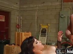 Bobbi Starr gets pounded in hardcore fashion